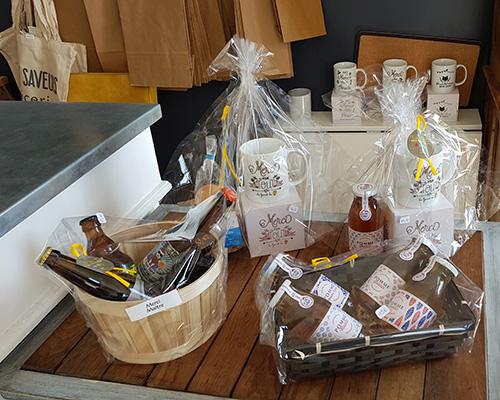 Paniers saveurs proposés par votre épicerie à Leforest